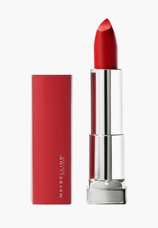 Помада Maybelline New York Color Sensational Made for all, оттенок 382, RED FOR ME, матовый красный,4.4г