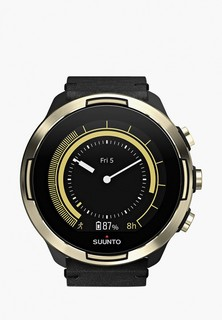 Часы GPS Suunto 9 BARO GOLD LEATHER SMU