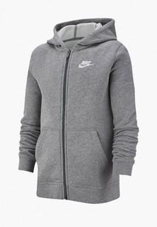 Толстовка Nike SPORTSWEAR BIG KIDS (BOYS) FULL-ZIP HOODIE