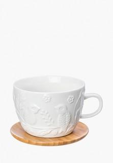Чашка с блюдцем Elan Gallery