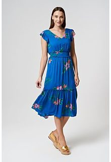 Платье с оборками Pepe Jeans