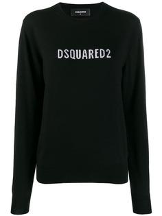 Dsquared2 толстовка с контрастным логотипом