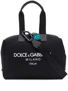 Dolce & Gabbana дорожная сумка с логотипом