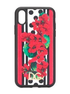 Dolce & Gabbana чехол для iPhone XR с цветочным принтом