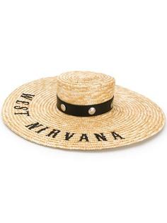 Kate Cate шляпа West Nirvana с вышивкой