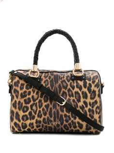 Liu Jo сумка-тоут с леопардовым принтом
