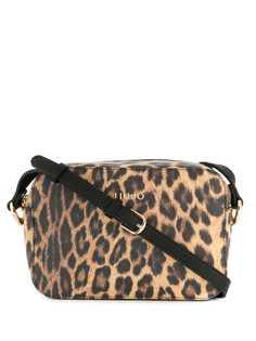 Liu Jo сумка на плечо с леопардовым принтом