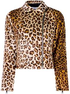 Liu Jo куртка из искусственного меха с леопардовым принтом