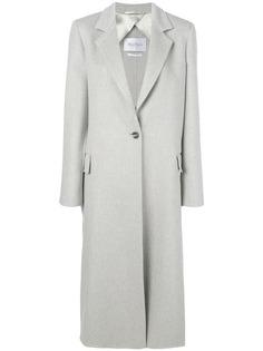 Max Mara однобортное пальто