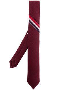 Thom Browne галстук с полосками RWB