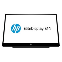 "Монитор HP EliteDisplay S14 14"", черный [3hx46aa]"