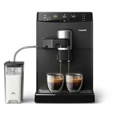 Кофемашина PHILIPS HD8829/09, черный/серебристый