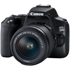 Фотоаппарат зеркальный Canon EOS 250D Black 18-55 + SB130