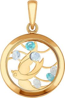 Золотые кулоны, подвески, медальоны Кулоны, подвески, медальоны SOKOLOV 035062_s