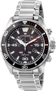 Японские мужские часы в коллекции Eco-Drive Мужские часы Citizen AT2430-80E