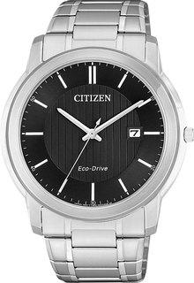Японские мужские часы в коллекции Eco-Drive Мужские часы Citizen AW1211-80E