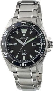 Японские мужские часы в коллекции Eco-Drive Мужские часы Citizen BM7451-89E
