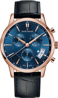 Швейцарские мужские часы в коллекции Sophisticated Classics Мужские часы Claude Bernard 01002-37RBUIR