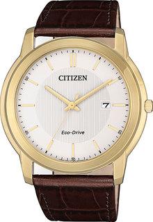 Японские мужские часы в коллекции Eco-Drive Мужские часы Citizen AW1212-10A