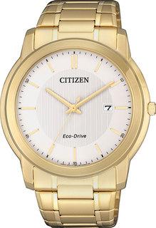Японские мужские часы в коллекции Eco-Drive Мужские часы Citizen AW1212-87A