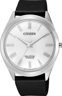 Японские мужские часы в коллекции Eco-Drive Мужские часы Citizen BJ6520-15A