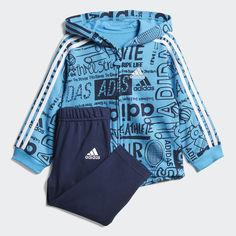 Флисовый комплект: толстовка и брюки Graphic adidas Performance