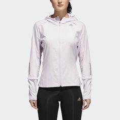 Куртка для бега Response Hooded adidas Performance