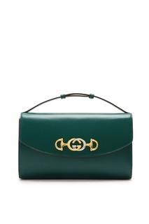 Зеленая мини-сумка Zumi Gucci
