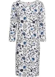 Платья с длинным рукавом Трикотажное платье Bonprix