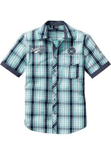 Рубашки с коротким рукавом Рубашка в клетку стандартного прямого покроя regular fit Bonprix