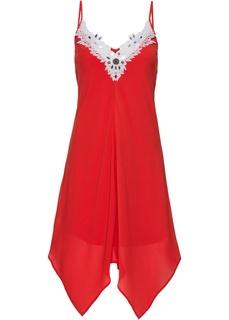 Короткие платья Платье с кружевной отделкой Bonprix
