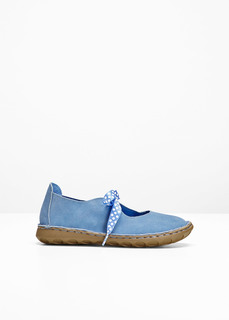 Балетки Туфли из кожи Bonprix