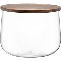 Чаша с деревянной крышкой d 32 см LSA International City (G1239-32-301)