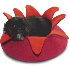 Домик Dharma dog Karma cat Лепестки розово-оранженые 14 для животных