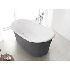 Акриловая ванна BelBagno 167,6x90 слив-перелив бронза (BB32-CF36 + BB39-OVF-BRN + BB39-TC-BRN)