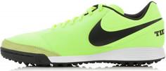 Бутсы мужские Nike Tiempox Genio II Leather TF, размер 42