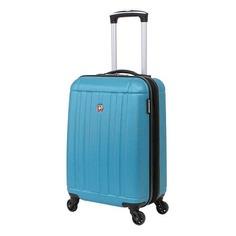 Чемодан Wenger Uster голубой WGR6297343154 34x55x22см 37л.