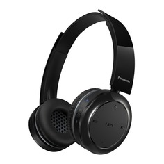Наушники с микрофоном PANASONIC RP-BTD5E-K, Bluetooth, накладные, черный