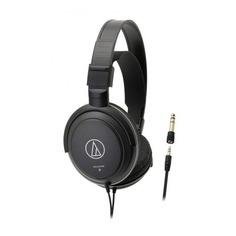 Наушники AUDIO-TECHNICA ATH-AVC200, 3.5 мм/6.3 мм, накладные, черный [15118391]