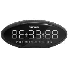 Радио-часы Telefunken TF-1702UB Black