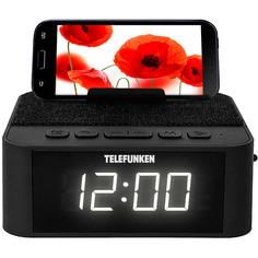 Радио-часы Telefunken TF-1700UB Black