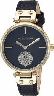 Женские часы в коллекции Crystal Женские часы Anne Klein 3380BKBK