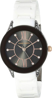 Женские часы в коллекции Ceramics Женские часы Anne Klein 2389GYWT