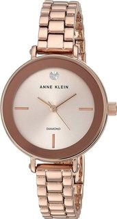 Женские часы в коллекции Diamond Женские часы Anne Klein 3386RGRG