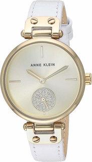 Женские часы в коллекции Crystal Женские часы Anne Klein 3380CHWT