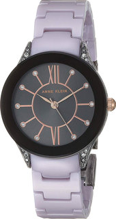 Женские часы в коллекции Plastic Женские часы Anne Klein 2389GYLV