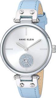Женские часы в коллекции Crystal Женские часы Anne Klein 3381SVLB