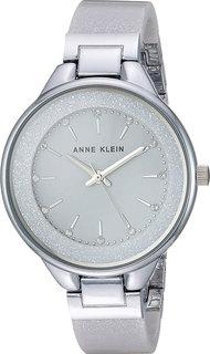 Женские часы в коллекции Plastic Женские часы Anne Klein 1409LGSV
