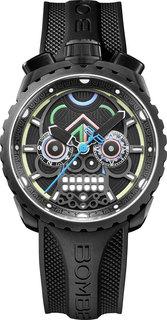 Швейцарские мужские часы в коллекции BOLT-68 Мужские часы Bomberg BS45CHPBA.MAYA-2.3