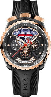 Швейцарские мужские часы в коллекции BOLT-68 Мужские часы Bomberg BS45CHPPKBA.PIR-1.3